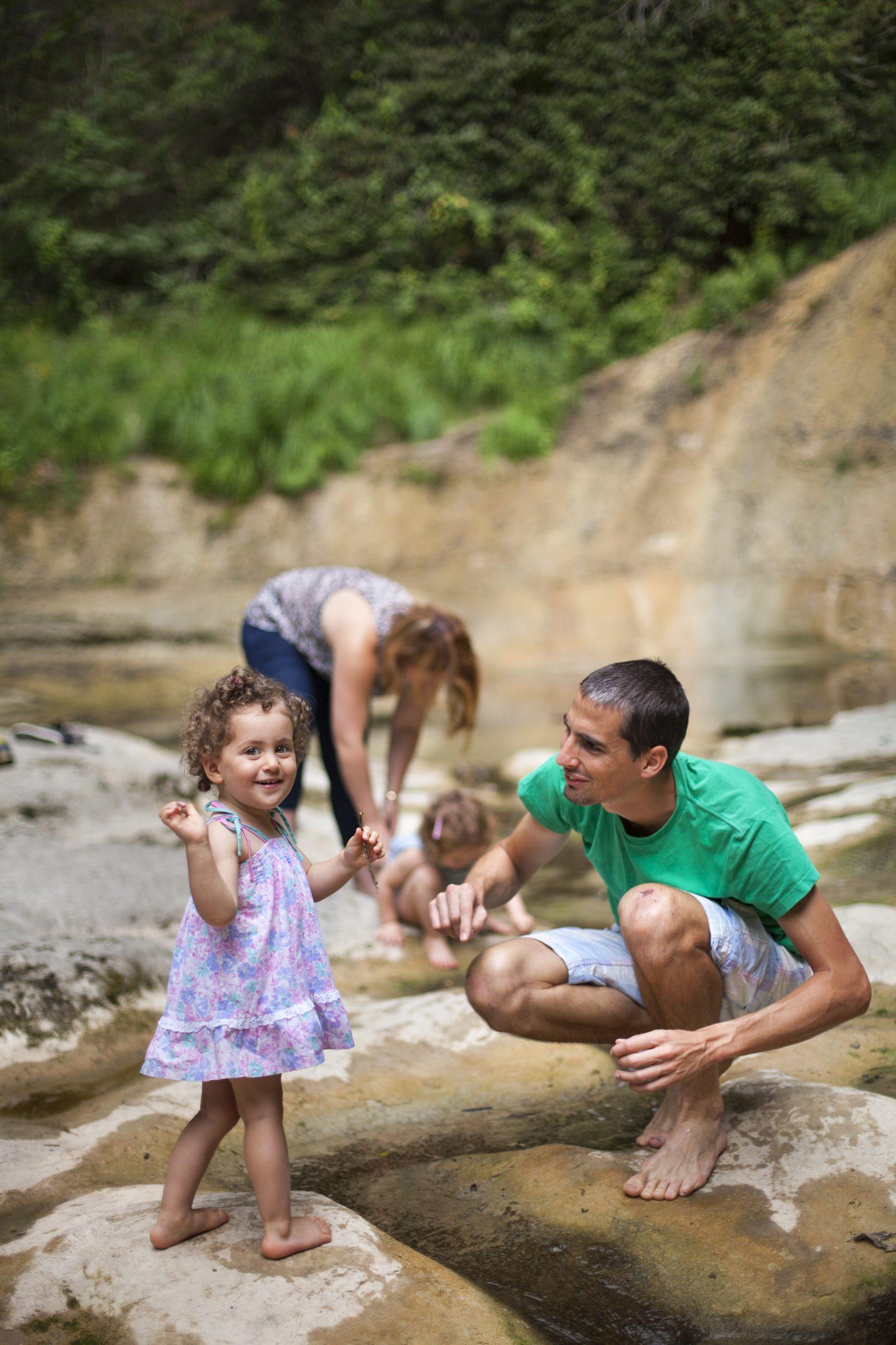 Cascade du Pain de Sucre en famille ©Daniel Gillet